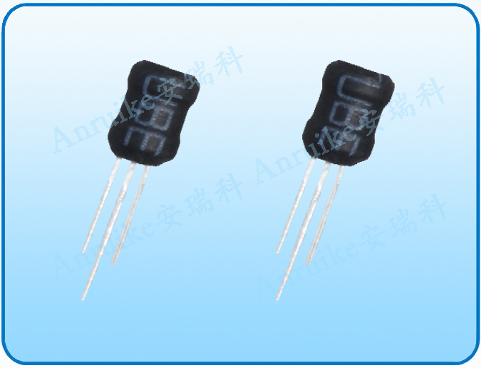 PK三脚插件工字电感